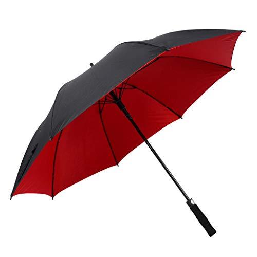 GFYS1201 Zakparaplu UV UPF50 + zonnescherm, groot, automatisch te openen paraplu met dubbele ventilatie, winddicht, voor mannen en vrouwen