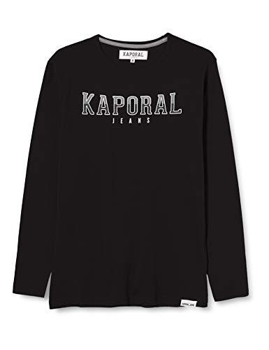 Kaporal ONARD T-Shirt garçon, Noir, 12 ans