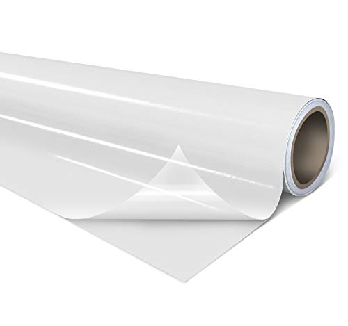 VViViD Clear Self-Adhesive Lamination Vinyl Roll for Die-Cutters and Vinyl...