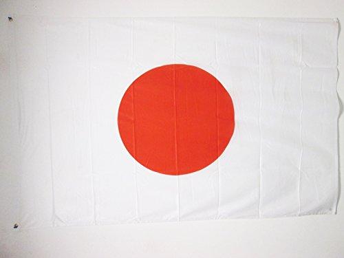 AZ FLAG Drapeau Japon 150x90cm - Drapeau Japonais 90 x 150 cm Spécial Extérieur - Drapeaux