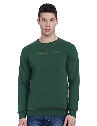 Qube By Fort Collins Men's Blouson Fleece Sweatshirt