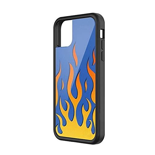 Lwcybh. Custodia per telefoni cellulari in Silicone PC + TPU per iPhone per iPhone 6S 7 8 Plus XS Max per Apple Mobile Phone XR 11 12 M-INI PRO Hard Case Hard (Color : A1, Material : for iPhone 5)