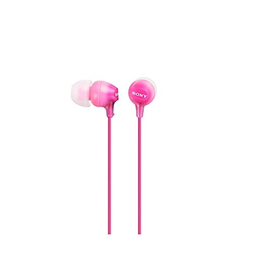 Sony Mdr-Ex15Lp - Cuffie In-Ear, Auricolari in Silicone, Rosa
