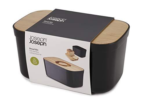 JosephJoseph(ジョセフジョセフ)パンケースブレッドケースライトブラック81103