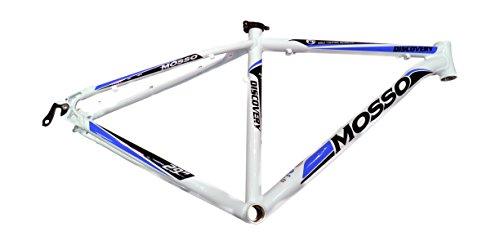 Mosso MTB 2901 Discovery - Cuadro, Color Blanco, Talla 20'