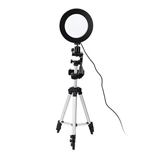KUIDAMOS Kit de luz anular Lámpara anular de vídeo de Alta reproducción en Color para fotografía publicitaria para Rellenar la luz en Interiores