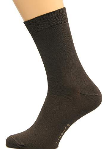 Lindner 5 Paires de chaussettes de marque 95% coton, 5% élasthanne