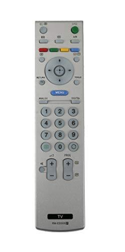 VINABTY RM-ED005 Mando a Distancia para Sony KDL-20G3000 KDL-20G3030 KDL-26S2000E KDL-26S2010 KDL-26S2020 KDL-26S2020E KDL-26S2030 KDL-26S2030E KDL32S2000 KDL-32S2000 KDL-32S2010 KDL-32S2020 TV