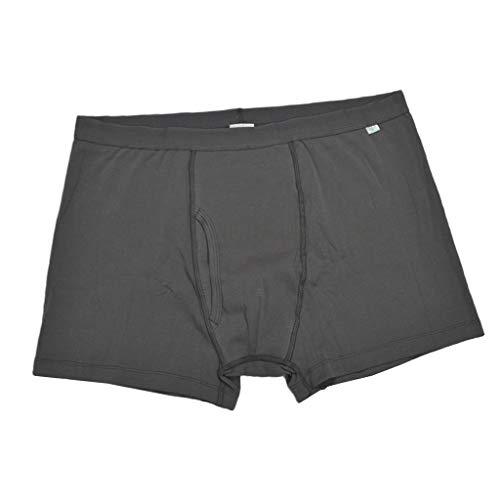 Perfeclan Männer Baumwolle Unterwäsche Inkontinenzslip Inkontinenzhose männliche Unterhose - XL