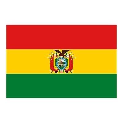 Bolivie Drapeau 5 'X3'