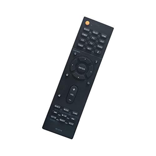 Rssotue RC-911R Replacement Remote Control fit for Onkyo AV Receiver TX-NR676 TX-NR676E TX-NR686 HT-R695 TX-NR656 TX-NR757 TX-RZ720 TX-NR585