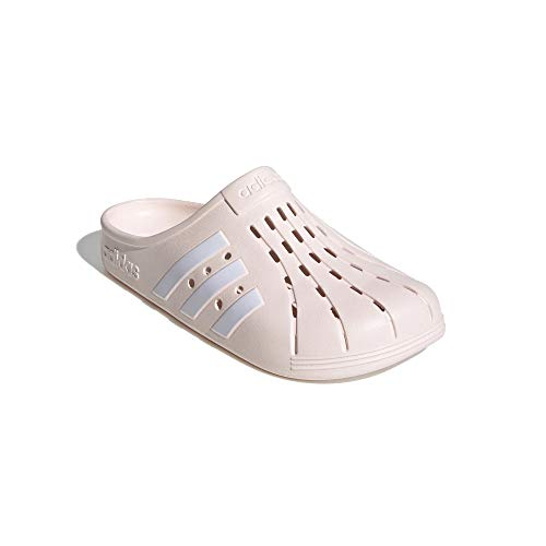 adidas Badeslipper Clogs (pink/White, Numeric_40_Point_5)