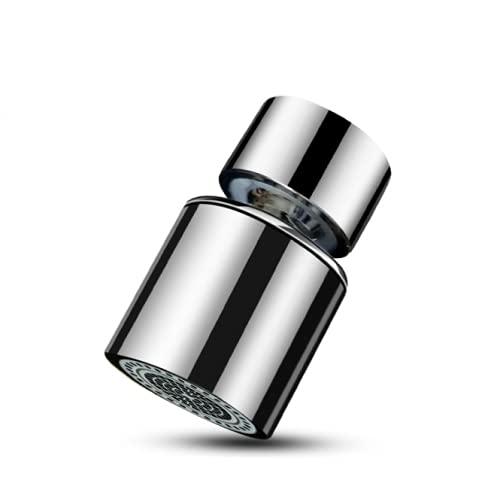 SmartMaster Aeratore Rubinetto, 360° Girevole Aeratore Decalcificante Universale Rubinetto Filtro Anti-spruzzo con 2 Modalità Aeratore per Lavello Cucina Bagno,Risparmio d\'Acqua