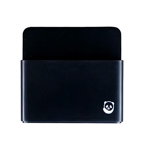 Magnetischer Stifthalter von SmartPanda – Whiteboard-Stifthalter mit starkem Magneten – Für Kühlschrank, Haus oder Büro – Schwarz
