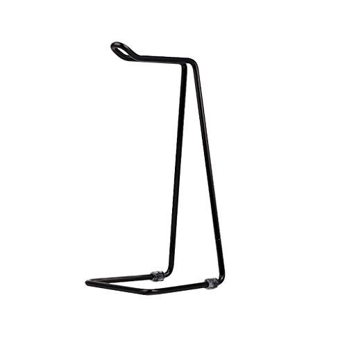 Soporte para auriculares Auriculares de estante creativo soporte montado en la cabeza de metal cabeza de la computadora del soporte de auriculares Estante de almacenamiento Colocación del estante de e