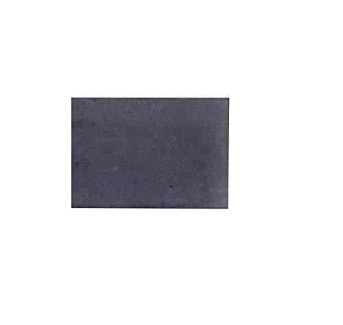 BodenMax CT757516DGREY Lote de 4 esquinas de cemento – Esquinas de cemento para baldosas, revestimientos y paredes. Color gris oscuro. 7,5 x 7,5 cms.