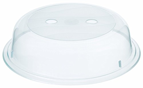 Mikrowellen-Abdeckhaube Polypropylen, transparent 26cm by CASCACAVELLE