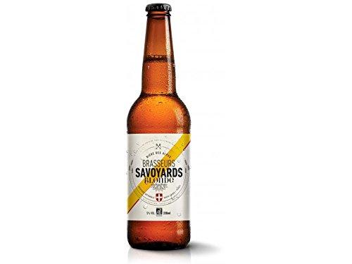 Cerveza Rubia Orgánica - Blonde Lager Especialidad de cerveza Pilsner de los Alpes franceses - 0.33l