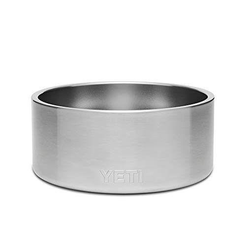YETI Boomer 8, Stainless Steel, Non-Slip Dog Bowl, Holds 64 Ounces, Stainless