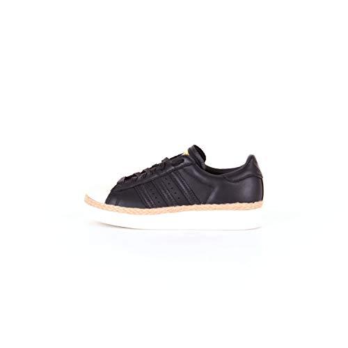 adidas Originals Superstar 80S New Bold W, Core Black-Core Black-Off White, 37 1/3 EU