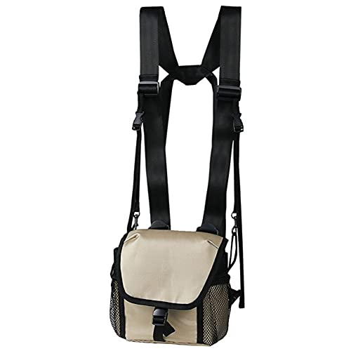 Fernglas Tasche, Universal-Tasche Für Ferngläser, Verstellbare Fernglas-Tasche Fall Teleskop Wandern Jagd Kamera Brust Pack, Tasche für Ferngläser, Schultertasche Hüfttasche Chest Crossbody Bag