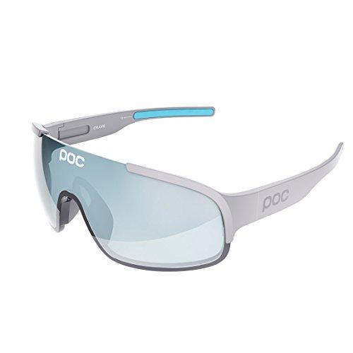POC Crave Pentose - Gafas sol unisex, color gris, talla única