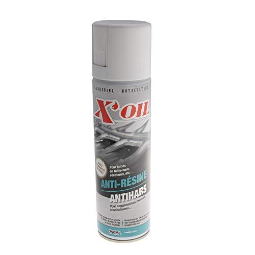 Disolvente y lubricante para herramientas de corte y cuchillas de cortasetos