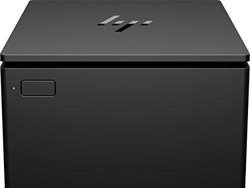 HP 1RM02AA#ABB ElitePOS Drucker USB, Netzteil, kompatibel Schwarz