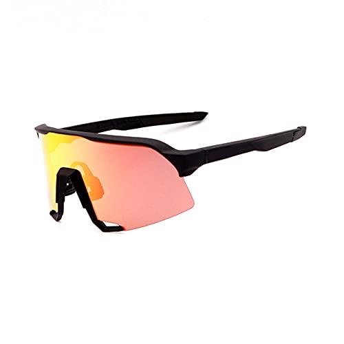 YSPS Gafas de Sol de Ciclismo polarizado Anti-UV400, Béisbol Correr Pesca Ski Running Golf Gafas de Sol F