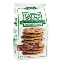 Tate's Bake shop Gluten Free Chocolate chip cookies 7 oz bag x 2 Pack