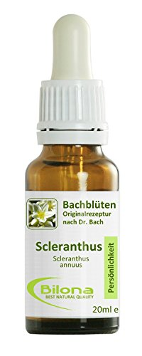 Joy Bachblüten, Essenz Nr. 28: Scleranthus; 20ml Stockbottle