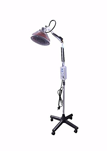 Fantastic Deal! BoNew 250W TDP Lamp Plastic Timer Floor Standing Heat Independent Head Adjustable Pa...