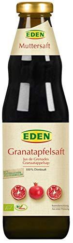 EDEN Bio Granatapfelsaft Muttersaft bio (6 x 750 ml)