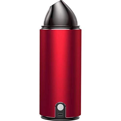 ZXL Handstaubsauger/Gebläse-Reiniger Absorbieren und Blasen Sie 2-in-1-wiederaufladbare Multifunktions-Handauto-Staubsauger für die Reinigung von Heim-, Büro-, Auto-, Staub- und Tierhaaren,Rot