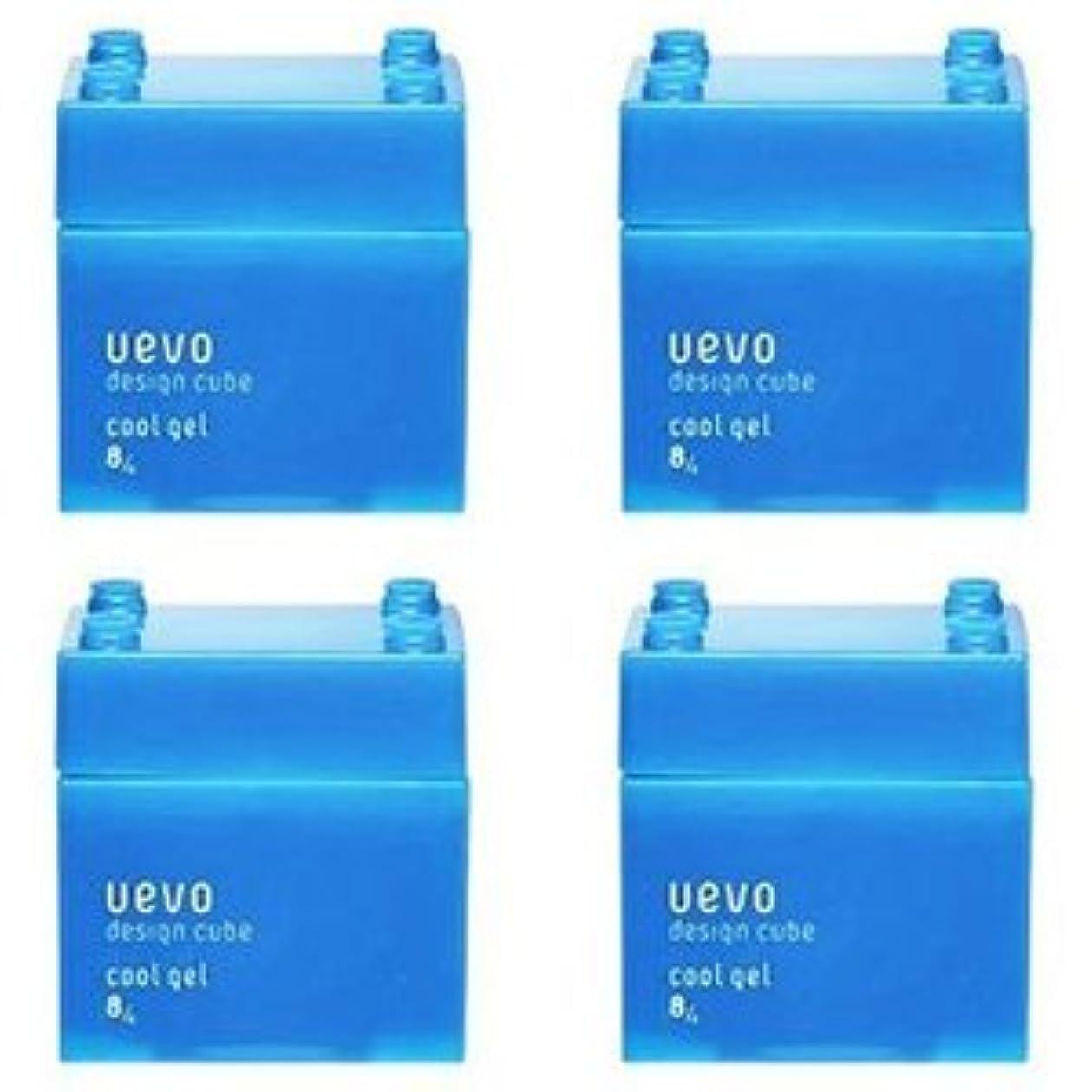 薬局太陽スタッフ【X4個セット】 デミ ウェーボ デザインキューブ クールジェル 80g cool gel DEMI uevo design cube