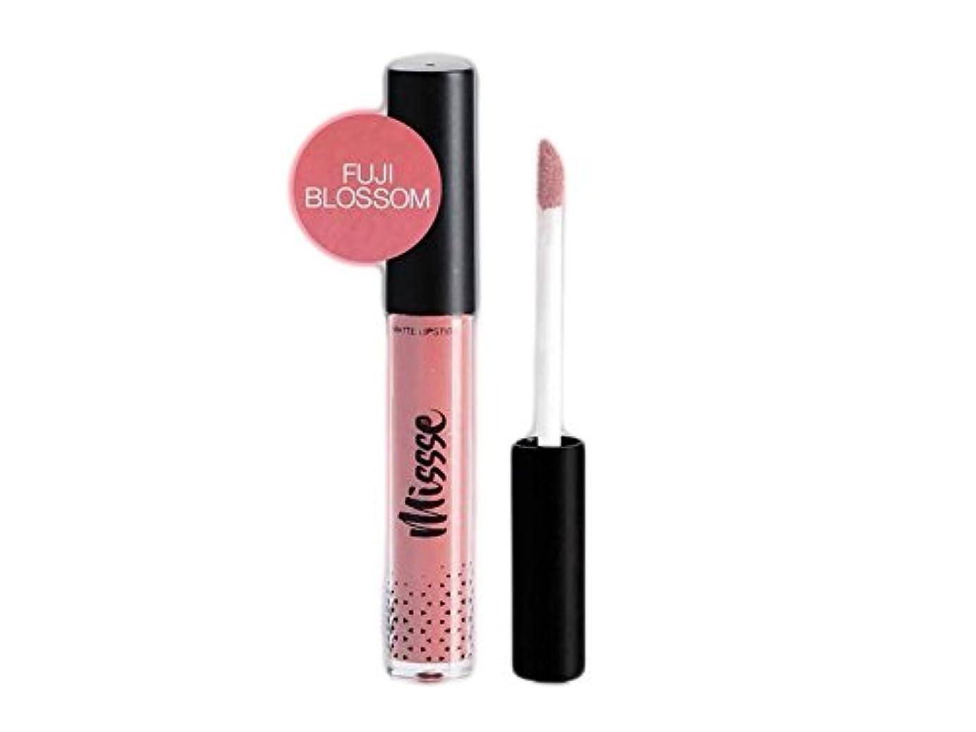 参照する正しい服を洗うMissse Matte Liquid Lipstick - Fuji Blossom Color