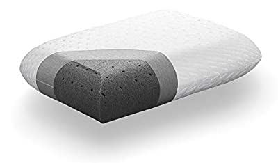 Tuft & Needle Premium Pillow, Standard Size with T&N Adaptive Foam, Sleeps Cooler & More Supportive Than Memory Foam Pillows, Hypoallergenic Cover, Certi-PUR & Oeko-Tex 100 Certified, 3-Year True Warranty