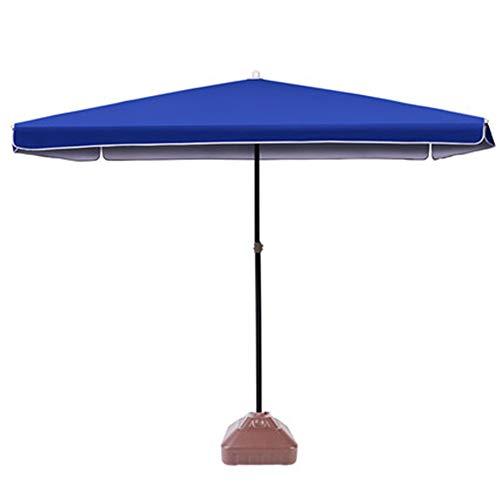 Apxzc Opvouwbare parasol, van staal met poedercoating, zwengel, robuust, stabiel, duurzaam en veilig, voor uitstapjes camping strand tuin en familie