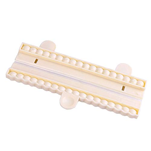 Demino/Pearl Bead Chain Fondant Cutter Mold Decorating Cake kauwgom plakken Sugarcraft Chocolade Schimmel Tool