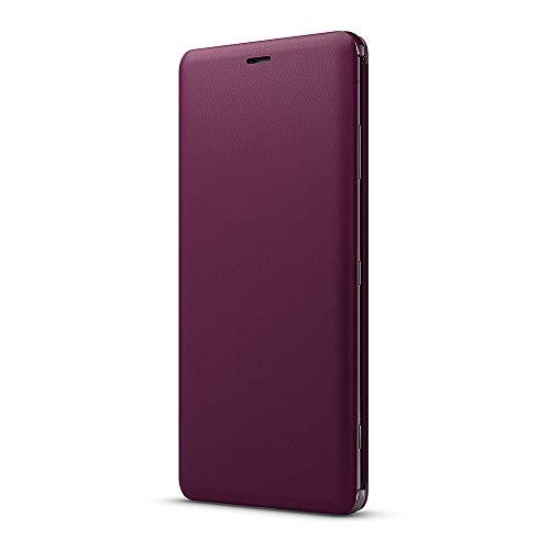 ソニー Xperia XZ3(SO-01L/SOV39/SoftBank)用 ソニー純正 国内正規品 手帳型スタンド機能付き スタイルカバースタンド(レッド)Style Cover Stand SCSH70JP/R