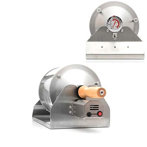 コーヒーロースター コーヒー焙煎機 小型業務用 家庭用 焙煎器 透明直火式 110V