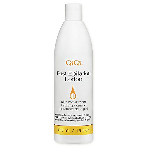 GiGi Post Epilation Lotion – After-Wax Skin Moisturizer, 16 oz