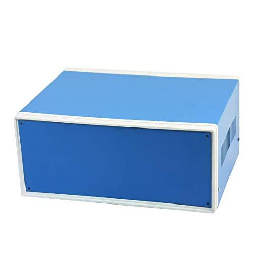 Caja electrónica Metal Shell DIY Proyecto Caja de Conexiones, Caja de Protección Caso Preventivo 250 mm x 190 mm x 110 mm