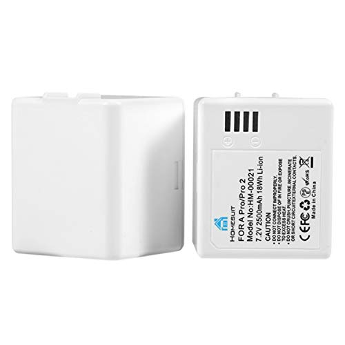 Homesuit Rechargeable Battery for Arlo Pro/Pro 2, 2500mAh Replacement Batteries 2-Pack for Arlo Pro 2, Arlo Pro NOT Compatible with Ultra/Pro 3