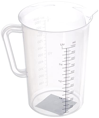 HENDI Jarra medidora de polipropileno - 1 L - ø110x(H)170 mm