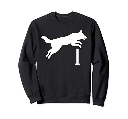 Agility Hund Sweatshirt