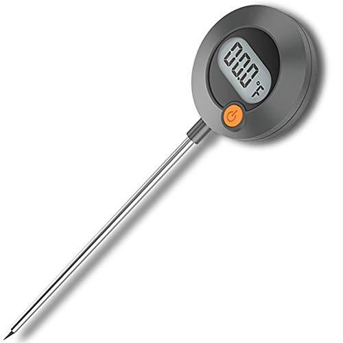 Remeel termómetro de cocina Termómetro de carne de lectura instantánea rápida digital Kitchen termómetro de cocina con imán para asar carne, hornear, pan, pasteles, ahumador y líquidos
