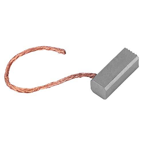 Cepillo de carbón 100PCS Piezas del motor Cepillo de carbón del motor 6 x 6 x 15 mm para accesorios de motor de bomba de diafragma en miniatura Conector industrial reemplazado