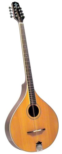 Trinity College TM-375 Standard Irish Bouzouki with Hardshell Case - Natural Top