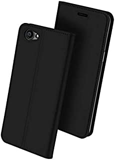 Oppo A83 DUX DUCIS Skin Pro Series Leather Case Cover - Black
